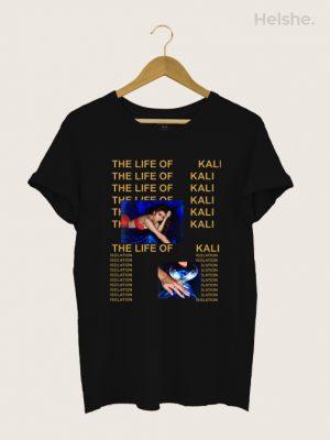 CAMISETA THE LIFE OF KALI UCHIS PRETA