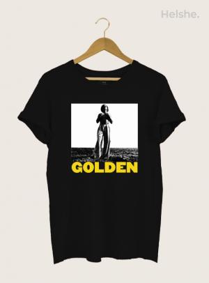 Camiseta Harry Styles Golden Preta