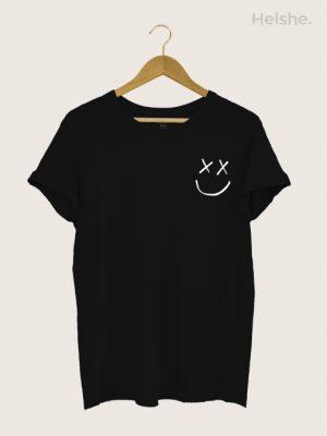 Camiseta-Louis-Tomlinson-Smiley-Preta