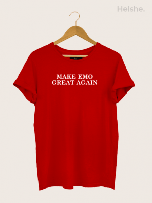 Camiseta Make Emo Great Again 5-min