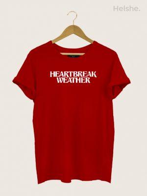 Camiseta Niall Horan Heartbreaker Weather Vermelha
