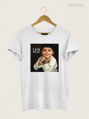 Camiseta-Zayn-Malik-Mind-Of-Mine-Branca