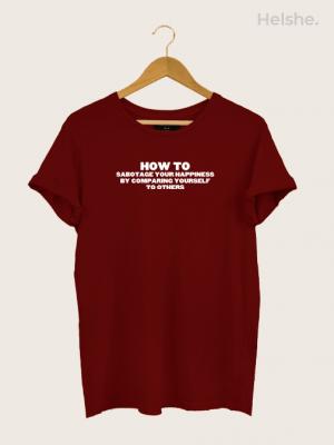 Camiseta How to Sabotage min